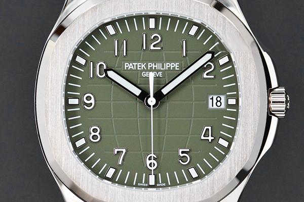 百达翡丽Aquanaut全新绿手雷腕表